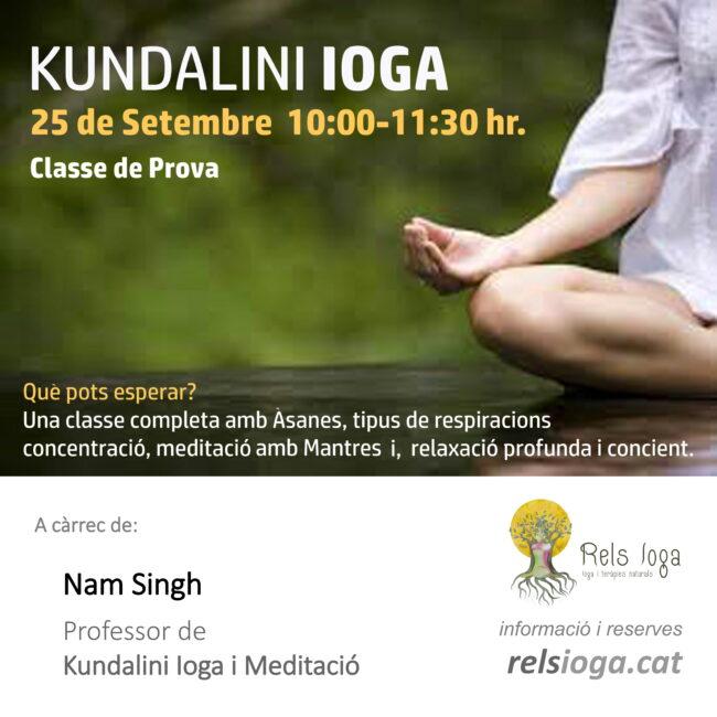 Kundalini | RELS IOGA | yoga, terapias, nutrición | Caldes d'Estrac (Caldetes) Maresme (Barcelona)