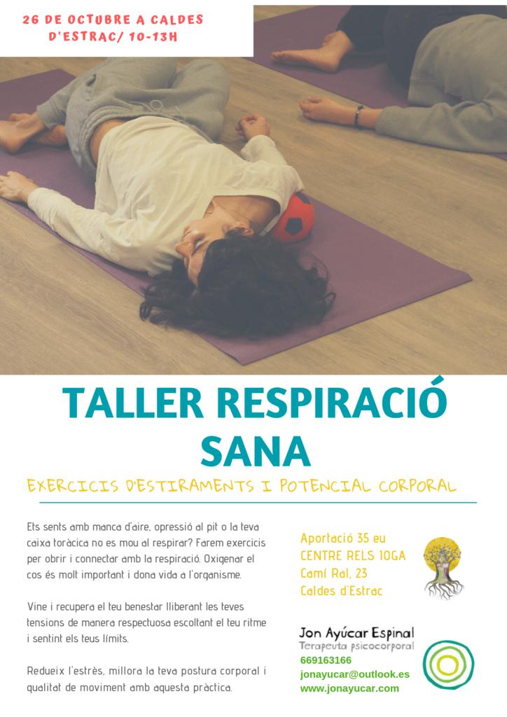 Esquena Sana Jon Ayúcar | RELS IOGA | yoga, terapias, nutrición | Caldes d'Estrac (Caldetes) Maresme (Barcelona)