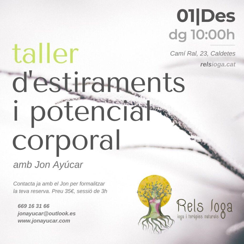 Respiració Sana Jon Ayúcar | RELS IOGA | yoga, terapias, nutrición | Caldes d'Estrac (Caldetes) Maresme (Barcelona)