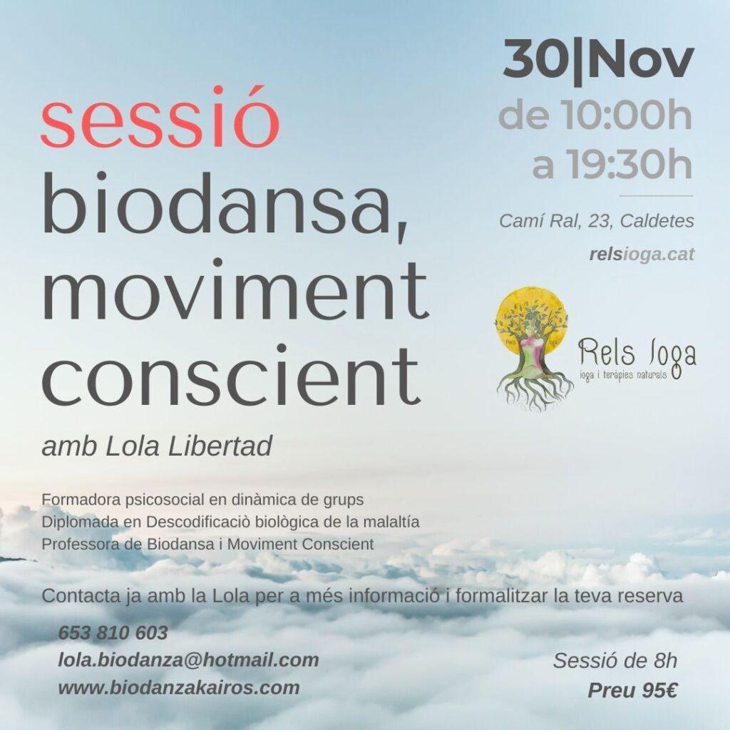 Lola Libertad | RELS IOGA | yoga, terapias, nutrición | Caldes d'Estrac (Caldetes) Maresme (Barcelona)