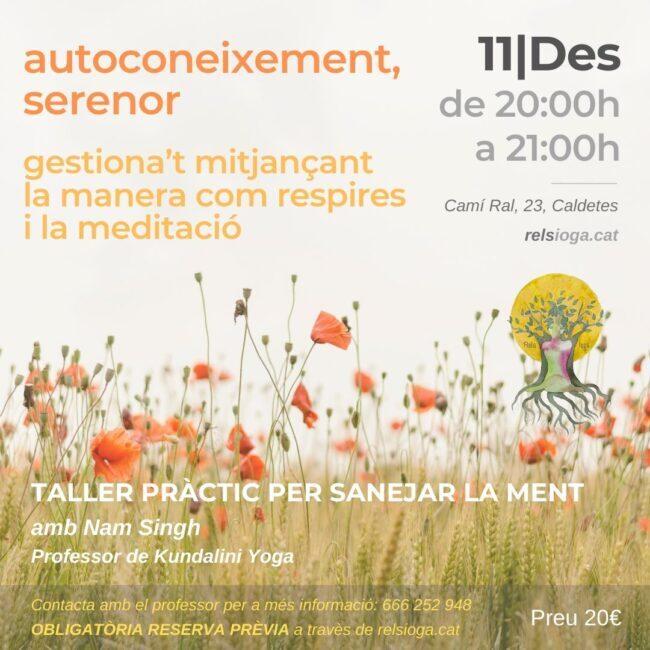 Nam Singh | Sanació | RELS IOGA | yoga, terapias, nutrición | Caldes d'Estrac (Caldetes) Maresme (Barcelona)