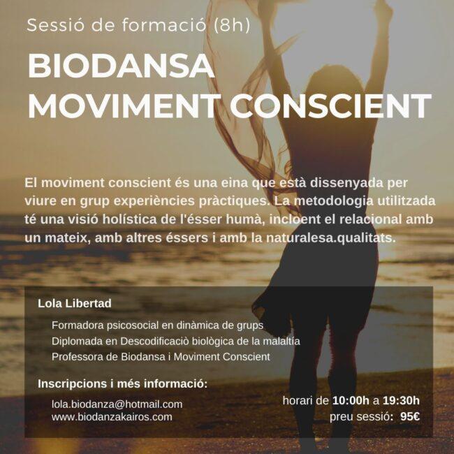 Lola Libertad biodansa | Moviment conscient | RELS IOGA | yoga, terapias, nutrición | Caldes d'Estrac (Caldetes) Maresme (Barcelona)