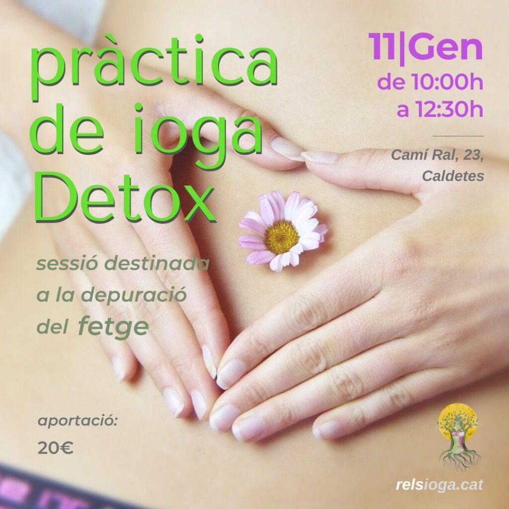 ioga detox | RELS IOGA | yoga, terapias, nutrición | Caldes d'Estrac (Caldetes) Maresme (Barcelona)