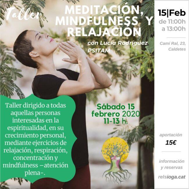 Lucía Rodríguez | PSITAM | Mindfulness RELS IOGA | yoga, terapias, nutrición | Caldes d'Estrac (Caldetes) Maresme (Barcelona)