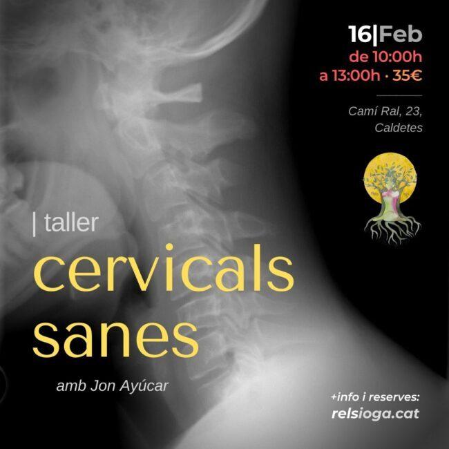 Cervicals Sanes | Jon Ayúcar | RELS IOGA | yoga, terapias, nutrición | Caldes d'Estrac (Caldetes) Maresme (Barcelona)