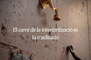 El camí de la interiorització és la meditació | RELS IOGA