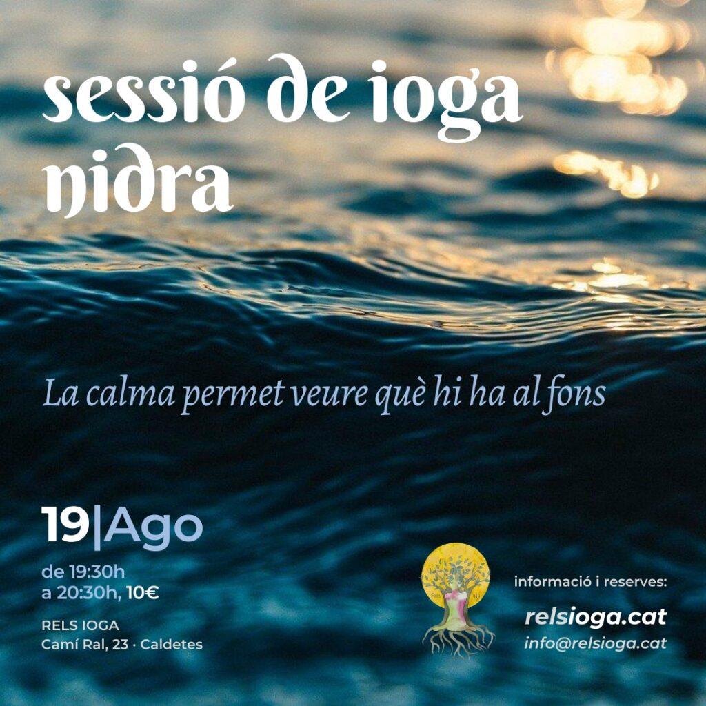 Taller RELS IOGA | NIDRA 20200819 | Mònica Navarro