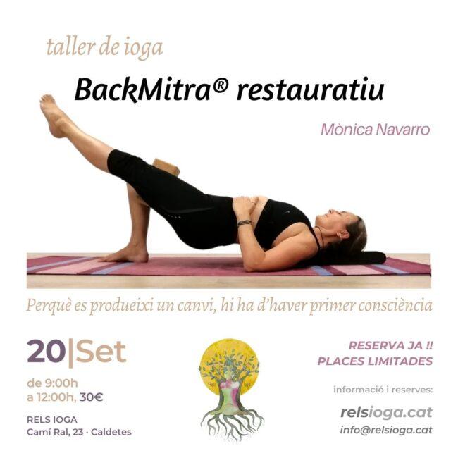 Taller RELS IOGA | BACKMITRA® 20200816 | Mònica Navarro
