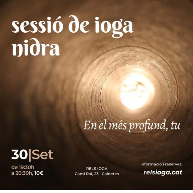 Sessió ioga NIDRA | Mònica Navarro | RELS IOGA
